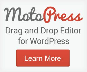 wordpress page builders - motopress
